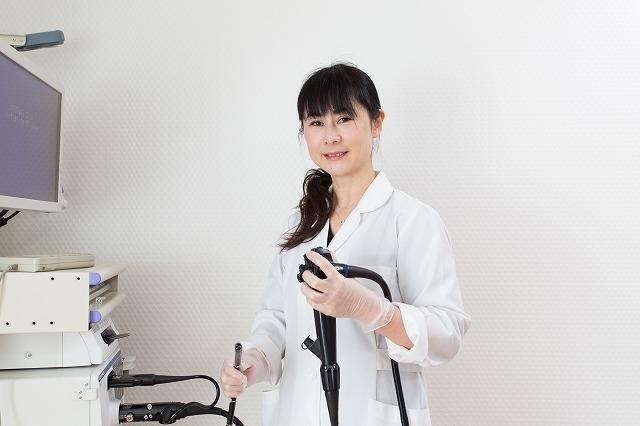 3.女性医師による内視鏡検査