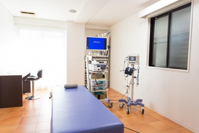 胃カメラ検査を行うための設備