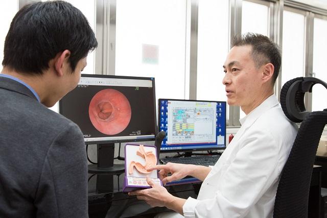 胃カメラ検査前の診断